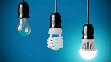 Lampadas para iluminar comercio.